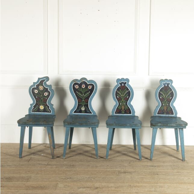 Set of Four Austrian Chairs CD3512439
