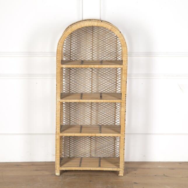 Set of Rattan Conservatory Shelves BK7313388