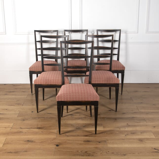 Set of Six Italian Dining Chairs CD9012421