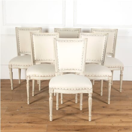 Set of Six French Dining Chairs CD3713095