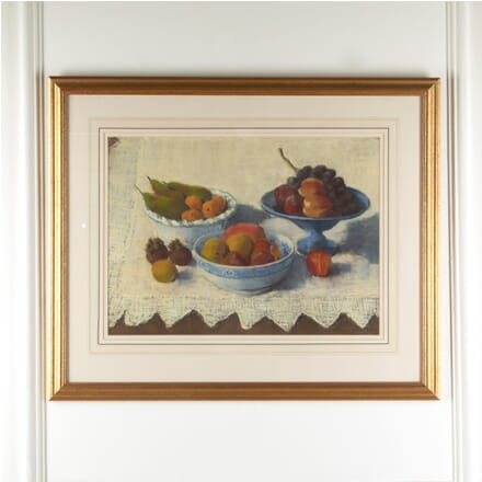 "Still Life Pastel by English Artist Gail Lilley ""Fruit"" WD8811498"