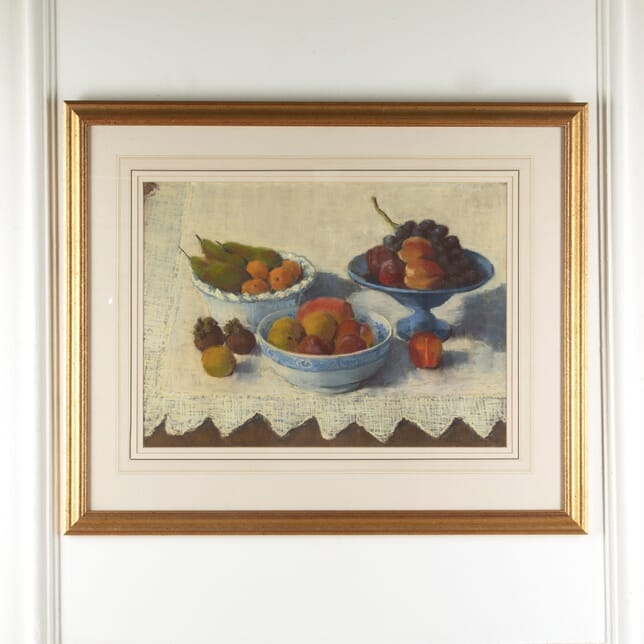 """Still Life Pastel by English Artist Gail Lilley """"Fruit"""" WD8811498"""