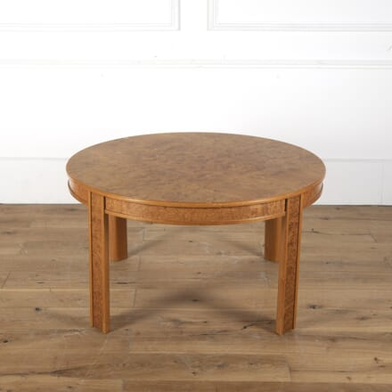 Swedish Burr Ash Coffee Table DA2712586