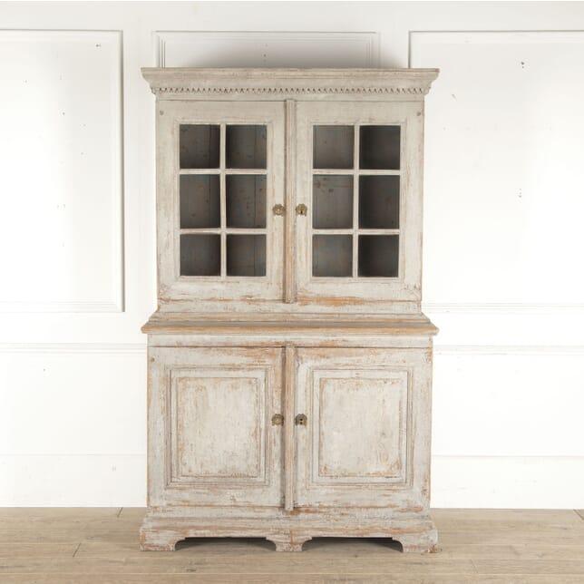 Swedish Early 19th Century Glazed Cabinet CU6013297