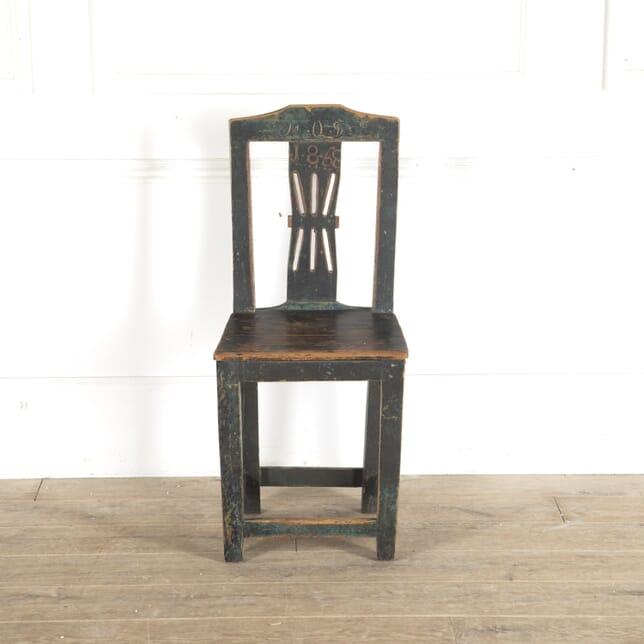 Swedish Folk Art Chair CH9013211