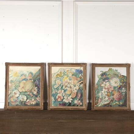 Trio of 'English School' Watercolours WD5113412