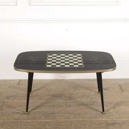 Vintage Coffee Games Table CT1512975