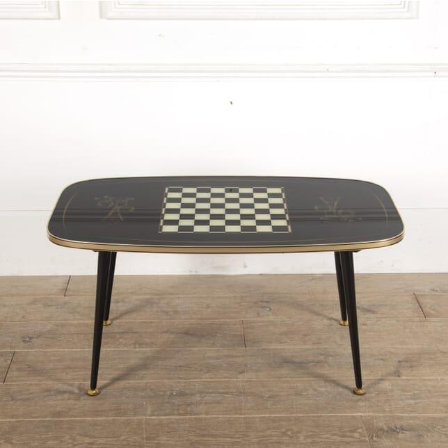Vintage Coffee Games Table CT1512975