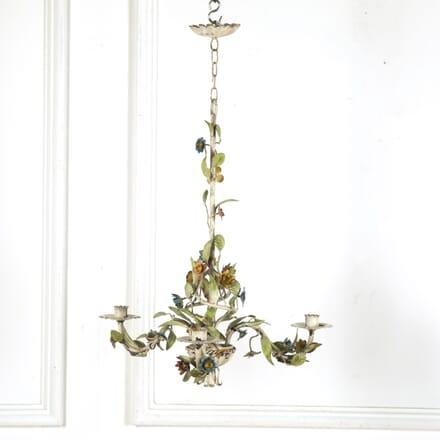 Vintage Floral Tole Chandelier LC1513024
