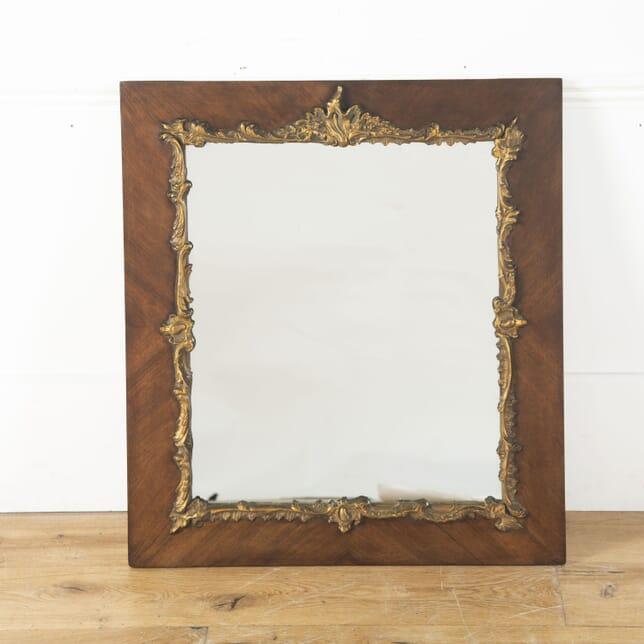 Walnut Mirror with a Bevelled Plate MI9012800