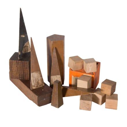 Wooden Geometric Shapes DA5558794