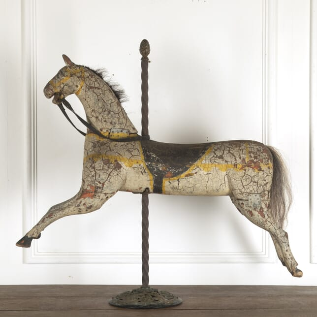 Wooden Horse from a French Fairground Ride DA3512437
