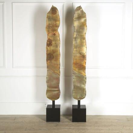 Pair of Brutalist Sculptures DA309556
