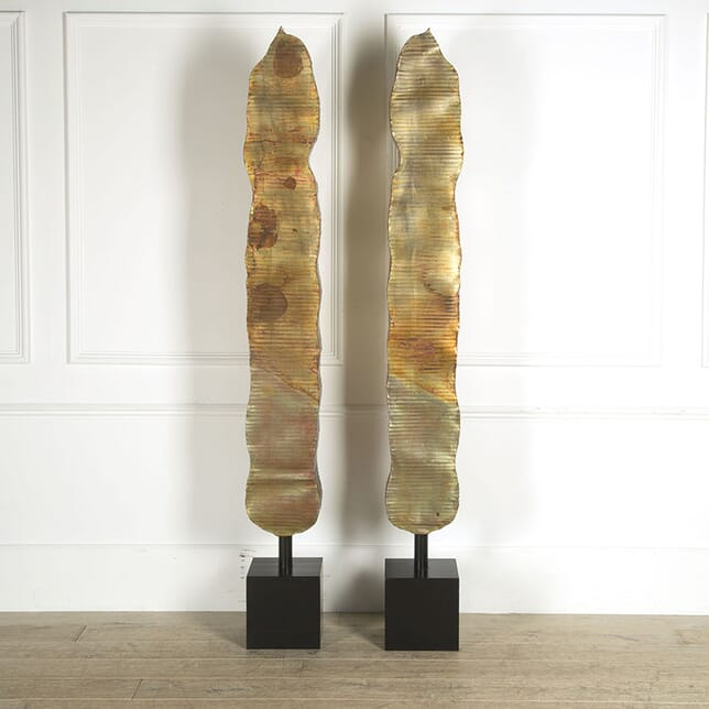 Pair of Brutalist Sculptures DA309556