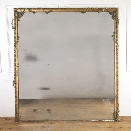 Large French Gilt Wall Mirror MI8915761