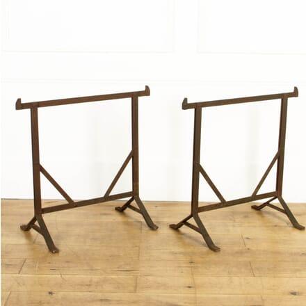Pair of Wrought-Iron Blacksmith's Trestles GA8017266