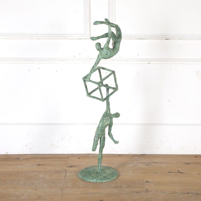 Abstract Bronze Sculpture DA7915951