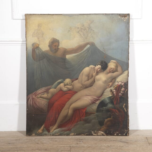 'Allegory of Love' Oil Painting WD1515287