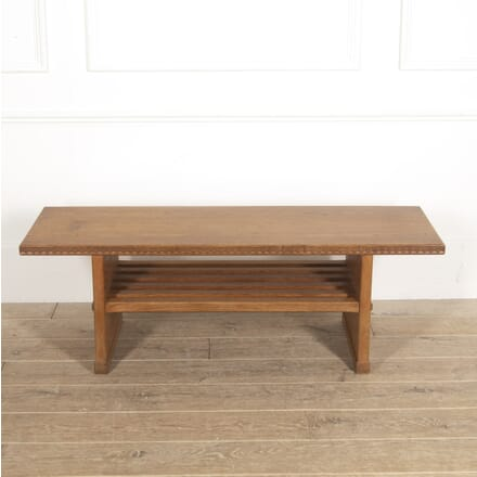 Arts & Crafts Oak Bench SB0515007