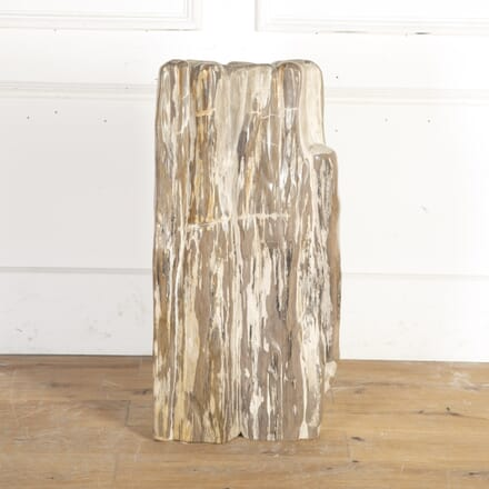 Ancient Petrified Hardwood Sculpture DA8914541