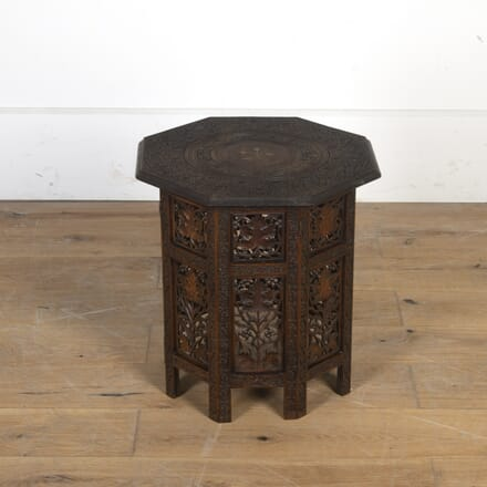 Anglo-Indian Carved Occasional Table TA5914816