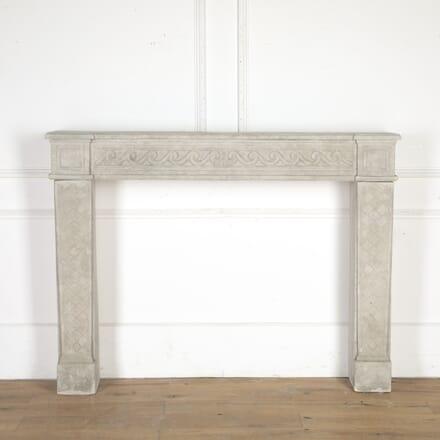 Bordeaux Louis XVI Stone Fireplace GA8614447