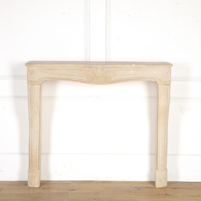French Louis XV Stone Fireplace GA8614442