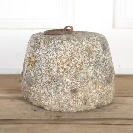 19th Century Granite Tethering Block GA8514626