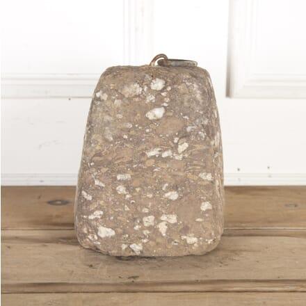 19th Century Granite Tethering Block GA8514625