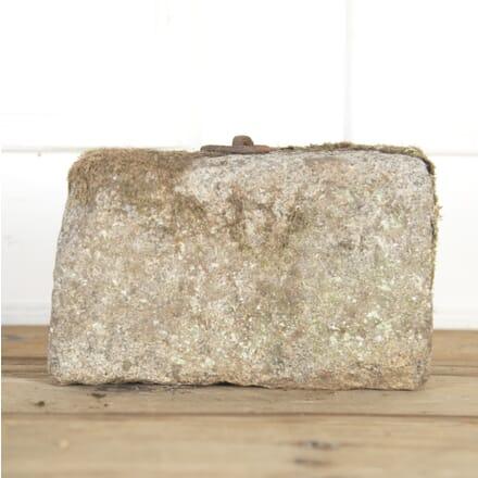 19th Century Granite Tethering Block GA8514624