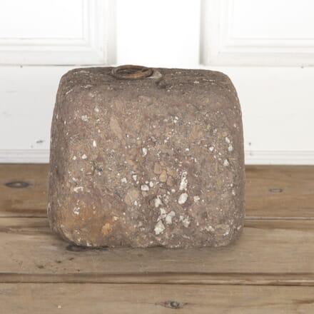 19th Century Granite Tethering Block GA8514623