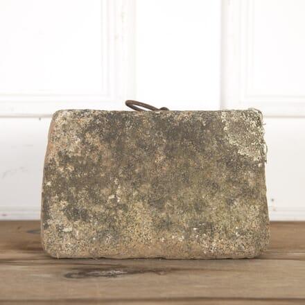 19th Century Granite Tethering Block GA8514622
