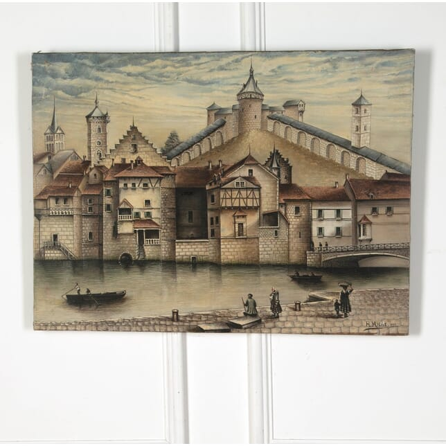 Architectural Oil Painting WD3611014