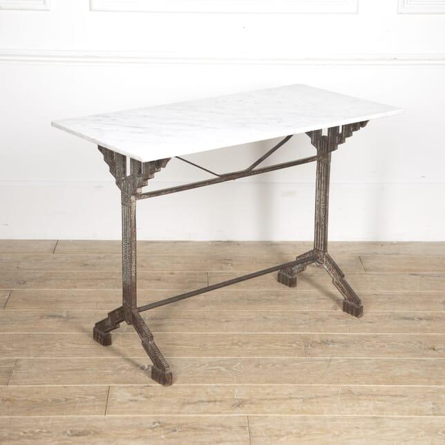 French Art Deco Bistro Table GA1515388