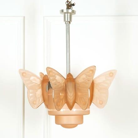 Art Deco Butterfly Light LC159056