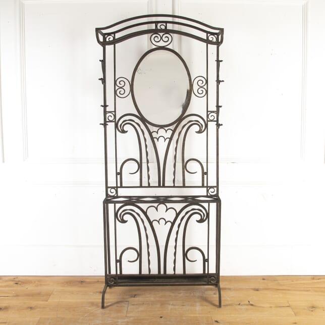 Art Deco Hall Coat Rack OF8513828