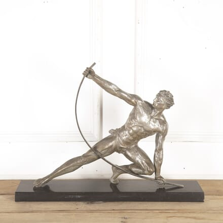 "Art Deco Spelter Figure of ""The Bender"" DA8514576"
