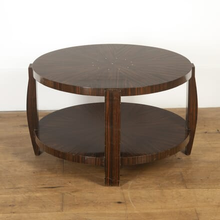 Art Deco Style Macassar Occasional Table TC7316857