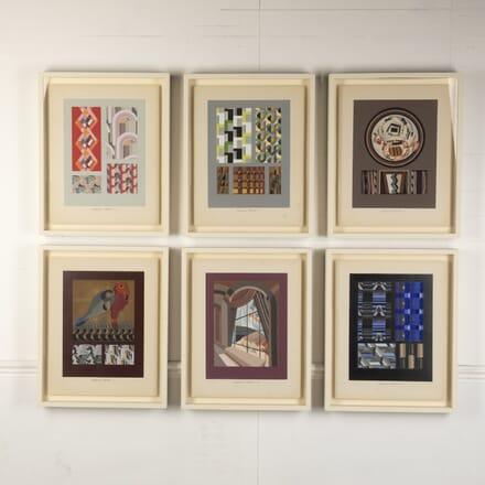 Art Deco 'RELAIS' Textile Designs WD7614912