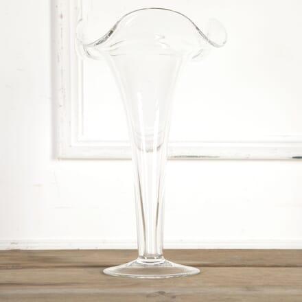 Art Nouveau Ruffle Rim Trumpet Vase DA5815473