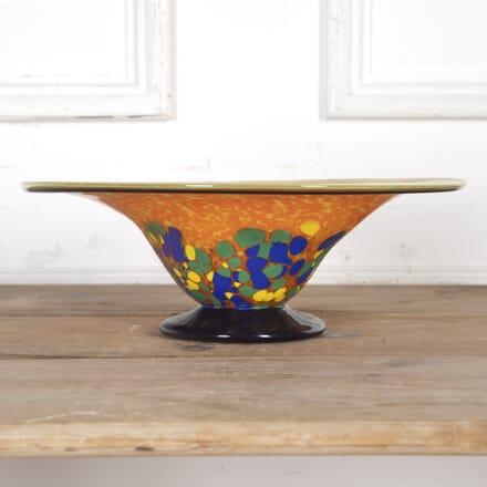 Art Nouveau Hand-Blown Glass Dish DA4016736