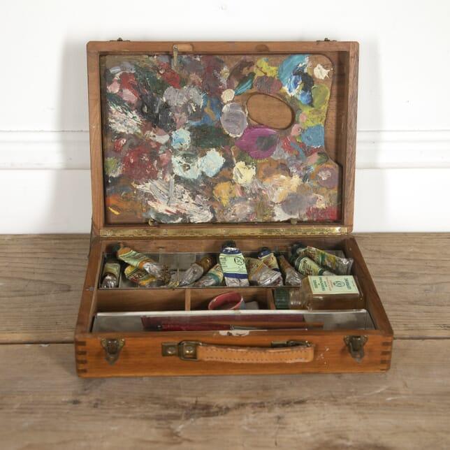Artist's Paint Box and Palette Set DA1516626