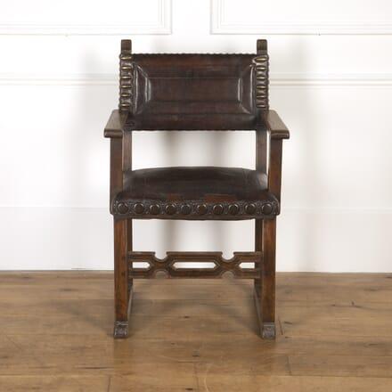 Arts & Crafts Oak Chair CH7316855