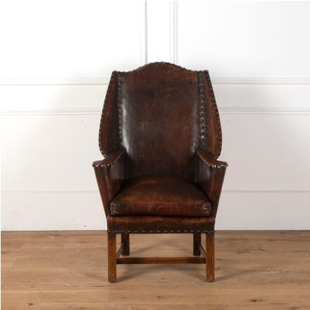 Arts and Crafts Leather Chair CH7311124
