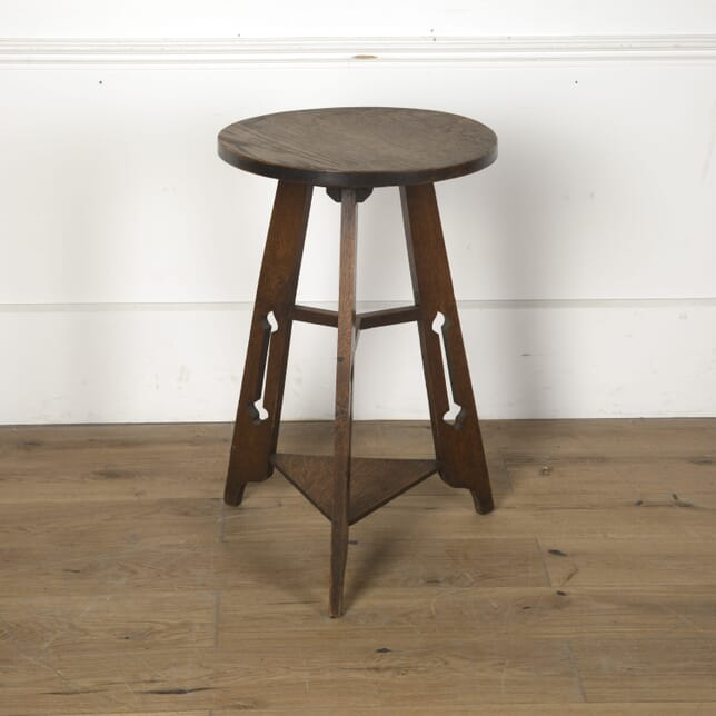 Arts & Crafts Oak Occasional Table TC7610603