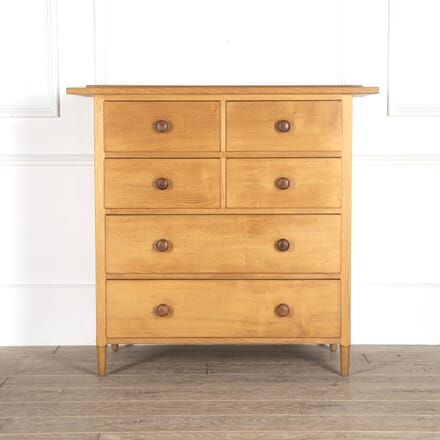 Arts & Crafts Ash Chest of Drawers CC0514359