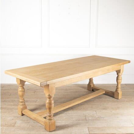 Arts & Crafts English Oak Refectory Table TD0513709