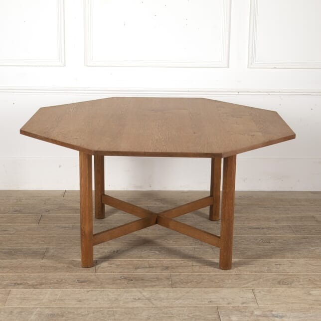 Arts & Crafts Octagonal Oak Table CD0513726