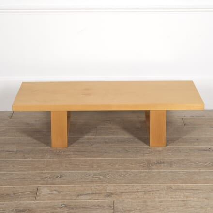Arts & Crafts Sycamore Coffee Table CT0515006