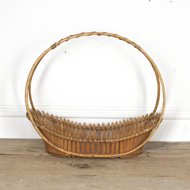 Bamboo Basket with Oval Handle DA2917499